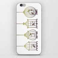 Birdcage IV iPhone & iPod Skin