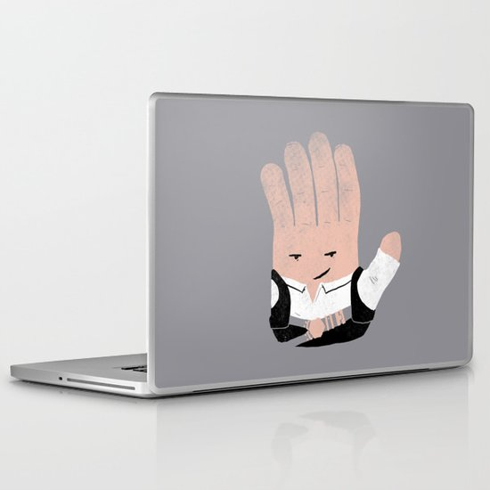 Hand Solo Laptop & iPad Skin