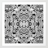 Triangle Heaven Art Print