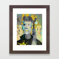 The Good, The Bald & The Ugly Framed Art Print