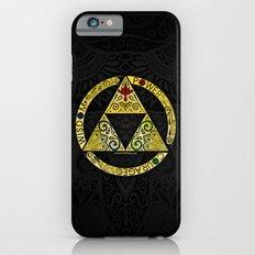 Gold Triforce Circle iPhone 6 Slim Case