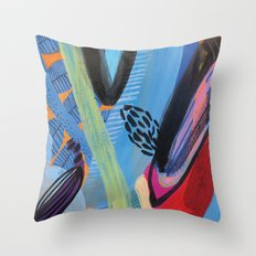 Drops III Throw Pillow