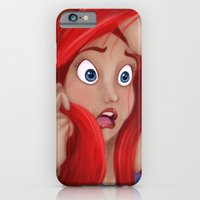 iPhone & iPod Case featuring The Little Mermaid by Valentina M.