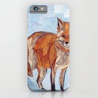 iPhone & iPod Case featuring Fox by GiGi Garcia Collages