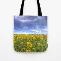 Yellow Fields Of Summer Tote Bag