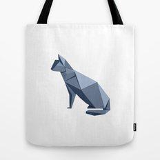 Origami Cat Tote Bag