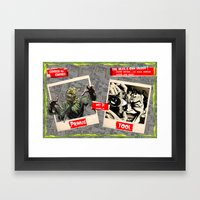 Halloween Show Framed Art Print
