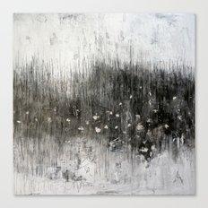 black landscape Canvas Print