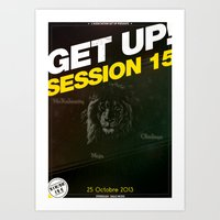 Concert : Get Up Session Art Print