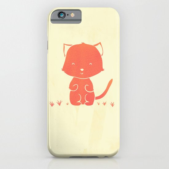 Happy Cat iPhone & iPod Case