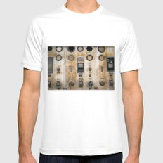 Captain Nemo Mens Fitted Tee SMALL White