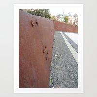 Rusted Art Print