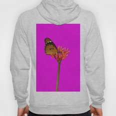 African Monarch in Pink Hoody