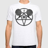 Whoreship Mens Fitted Tee Ash Grey SMALL