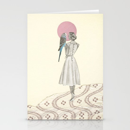 A Bird in the Hand Stationery Card