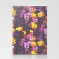Violets And Pearls Stationery Cards