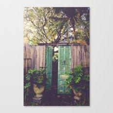 Saint Augustine Garden Canvas Print