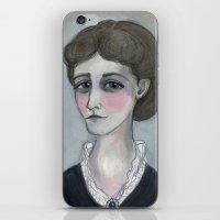 The Age of Wharton, Literary Portrait iPhone & iPod Skin