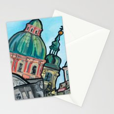 View From Charles Bridge Stationery Cards