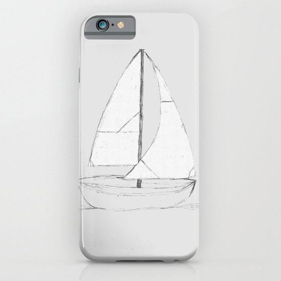 Calm Tides Grey iPhone & iPod Case