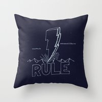 The Day We Rule Throw Pillow