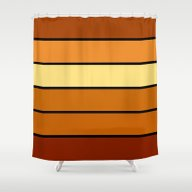 Shower Curtain featuring StriPES by 2sweet4words Designs