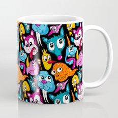 Weird Dudes Pattern Mug