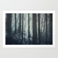 Glass Light Forest Art Print