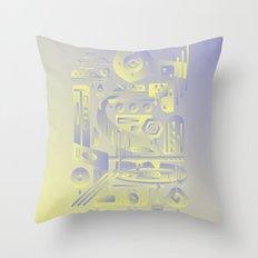 Geometromorphic Future Throw Pillow