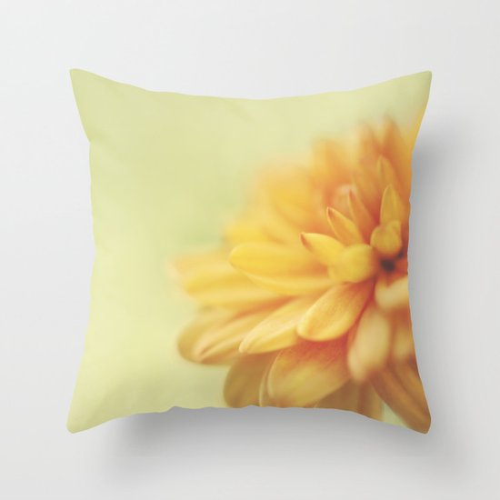 Dreamsicle Throw Pillow