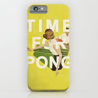 Time For Pong iPhone 6 Slim Case