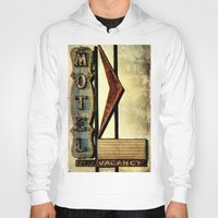 Vintage Arrow Motel Sign Hoody