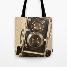 Twin Lens Reflex Tote Bag