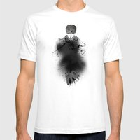 Style outside, man inside Mens Fitted Tee White SMALL