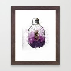YSL Parisienne Framed Art Print