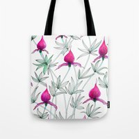 Small Purple Flowers Tote Bag