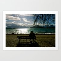 By The Lake Art Print