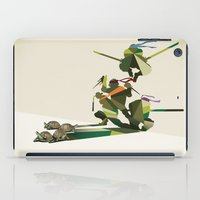 Walking Shadow, Turtles iPad Case