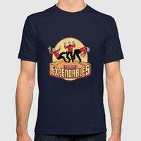 Redshirt Expendables Mens Fitted Tee Navy SMALL