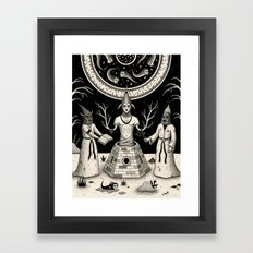 The Incantation Framed Art Print