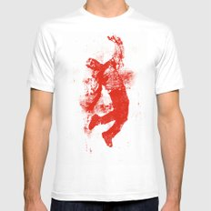 The Light #2 White Mens Fitted Tee SMALL