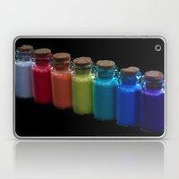 Powder Paint Pigments Laptop & iPad Skin