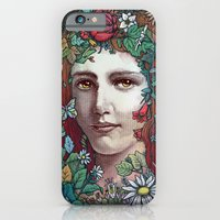 iPhone & iPod Case featuring Flora by Alvaro Arteaga