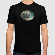 Ragin' like sloth!  SMALL Black Mens Fitted Tee