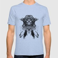 ERGOGRE Mens Fitted Tee Athletic Blue SMALL