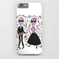 iPhone & iPod Case featuring Rock de la muerte by Sonia Puga Design