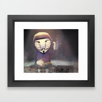 anonymous Framed Art Print