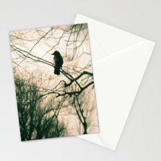 Crow Blur Stationery Cards
