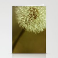 Yellow Dandelion Fruit Stationery Cards
