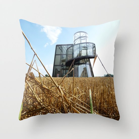 Surreal CityLand Collage 6 Throw Pillow